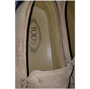 Tod's Shoes - Tod's Suede Driving Shoes